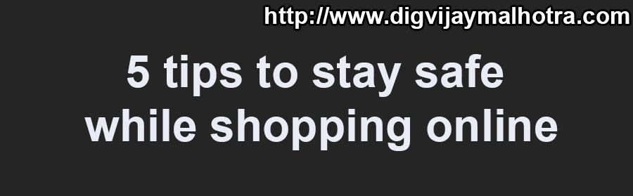 5 tips to stay safe while shopping online