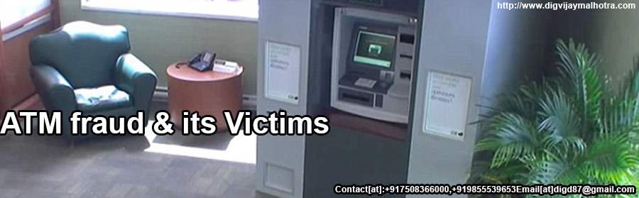 ATM fraud & its Victims