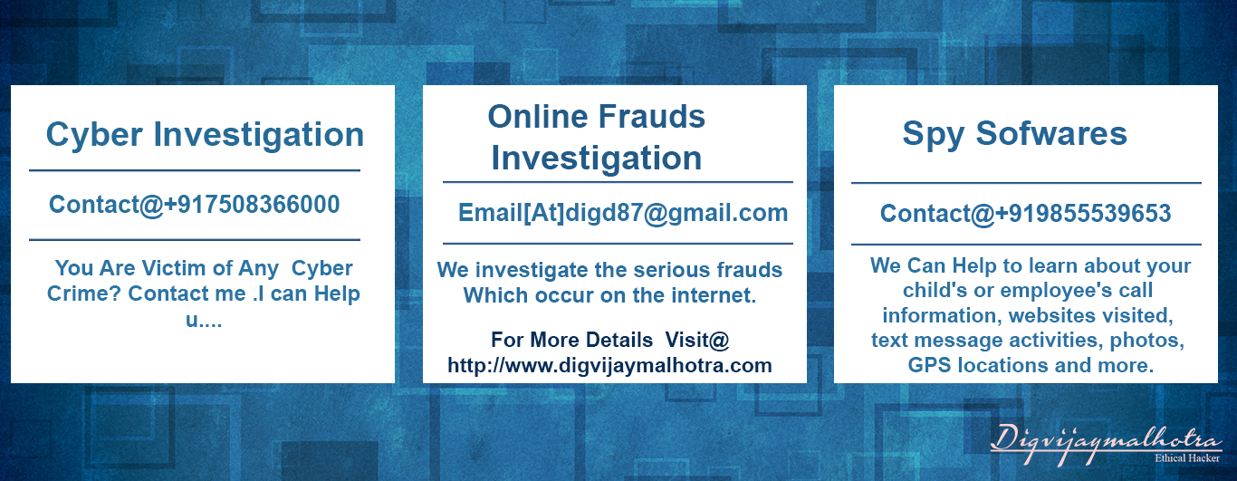 Online bank account scams