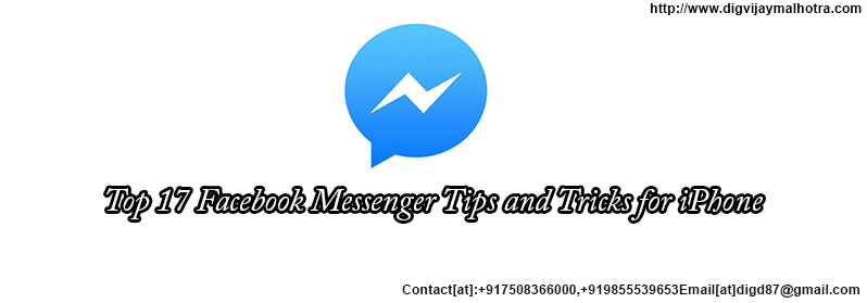 Top 17 Facebook Messenger Tips and Tricks for iPhone