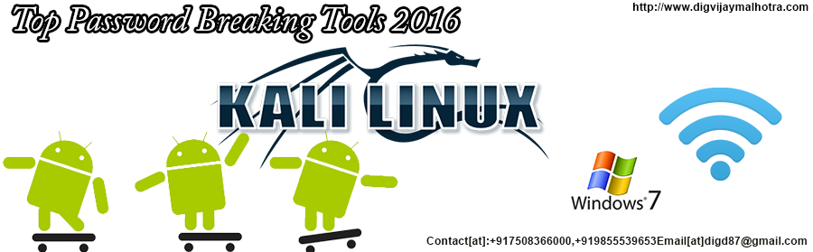 Top Password Breaking Tools 2016-Best Hacker in delhi